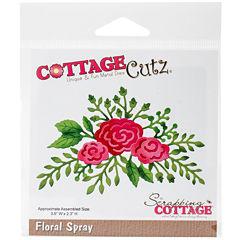 CottageCutz Floral Spray Die