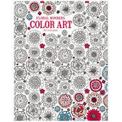 Leisure Arts - Color Art Floral Wonders