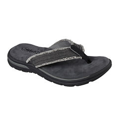 Skechers® Bosnia Mens Thong Sandals