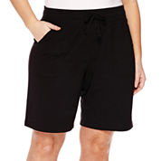 Made for Life™ French Terry Bermuda Shorts - Plus