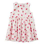 Oshkosh Sleeveless Babydoll Dress - Baby Girls