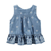 Oshkosh Sleeveless Tank-Baby Girls