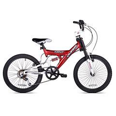 Kent 20in Super 20 Boys Dual Suspension Bike