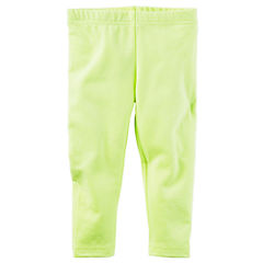 Carter's Solid Jersey Leggings - Baby Girls