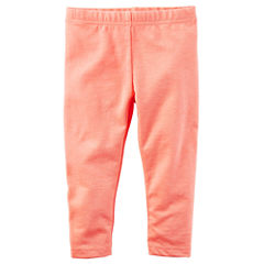 Carter's Solid Jersey Leggings - Baby Girls