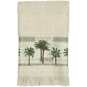 Bacova Citrus Palm Fingertip Towel