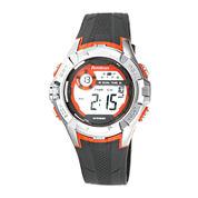 Armitron® Mens Black and Orange Chronograph Digital Sport Watch 40/8351ORGJ
