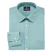 Stafford® Travel Long-Sleeve Broadcloth Dress Shirt - Extra Tall