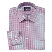 Stafford® Travel Long-Sleeve Broadcloth Dress Shirt - Extra Tall