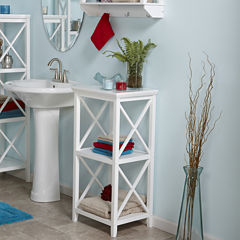 Riverridge Home 3-Shelf Bathroom Shelf