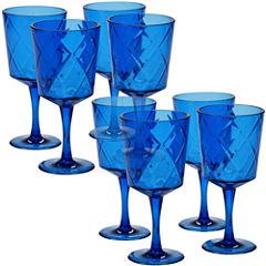 Certified International Acrylic Goblets 8-pc. Goblet