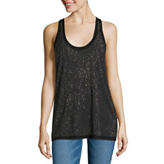i jeans by Buffalo Beaded Front Tank Top