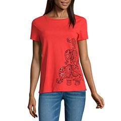 i jeans by Buffalo Short Sleeve Elephant Graphic Tee