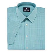 Stafford® Short-Sleeve Easy-Care Broadcloth Dress Shirt - Big & Tall