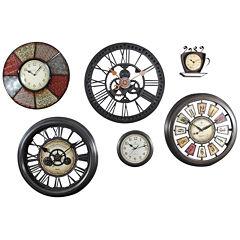 FirsTime® GearWorks Wall Clock