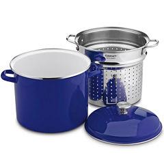Cuisinart® Chef's Classic™ 3-pc. Enamel On Steel 12-qt. Steaming Set