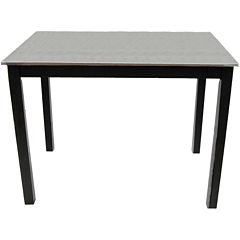 Cooper Stainless Steel Bar Table