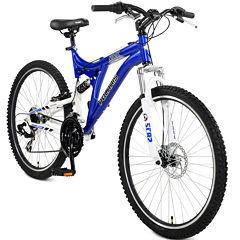 Polaris RMK 21-Speed Full Suspension Men's Mountain Bike