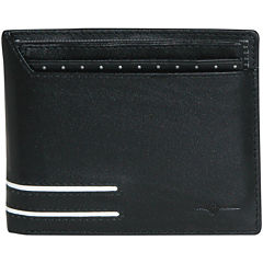 Buxton® Luciano Thinfold RFID Leather Wallet