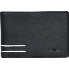 Buxton® Luciano RFID Front Pocket Slimfold Leather Wallet