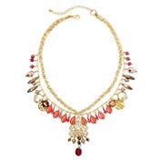 Aris by Treska Two-Row Beaded Necklace