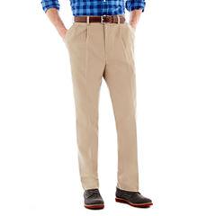 Savane® Eco Start® Pleated Twill Pants