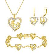 1/10 CT. T.W. Diamond 3-pc. Jewelry Set