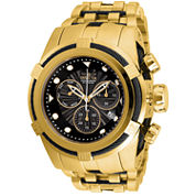 Invicta Bolt Mens Gold Tone Bracelet Watch-23912