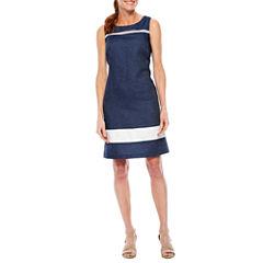 Liz Claiborne Sleeveless Shift Dress
