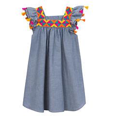 Rare Editions Short Sleeve Sundress - Preschool Girls