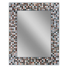 Earthtone Wall Mirror