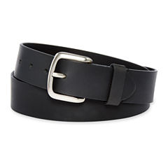 Dickies® Black Leather Belt–Big & Tall