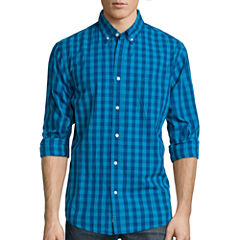Lee® Long-Sleeve Button-Front Shirt