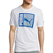 Puma® Knockout Short-Sleeve Graphic Tee