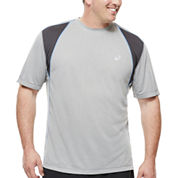 Asics® Mesh Short-Sleeve Tee - Big & Tall