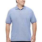The Foundry Big & Tall Supply Co.™ Short-Sleeve Pique Polo