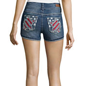 Wallflower Americana Denim Shorts
