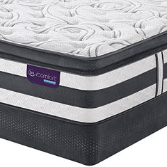 Serta Icomfort Hybrid Advisor Super Pillow Top Mattress Box Spring