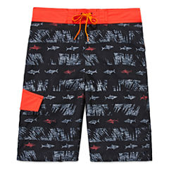 Arizona Boys Shark Swim Trunks-Preschool