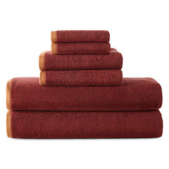 Bath Towel Sets Orange Bath Towels For Bed Amp Bath Jcpenney