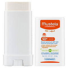Mustela Broad Spectrum SPF 50+ Mineral Sunscreen Stick
