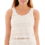 Olsenboye® Lace-Tier Tank Top