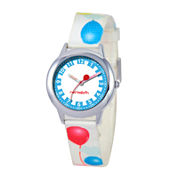 Red Balloon™ Boys' White Balloon Strap Watch