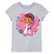 Disney Collection Short-Sleeve Doc Baby Graphic Tee - Girls 7-16