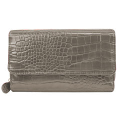 Mundi® Big Fat Croc Wallet