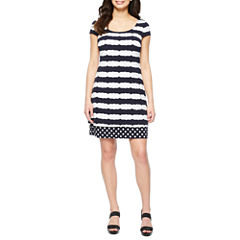 Melrose Short Sleeve Shift Dress