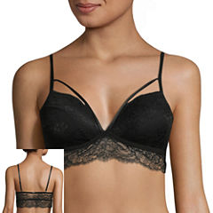 Xoxo Strappy Molded Lace Bralette-Xo2984