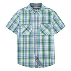 Levi's Freeform Short Sleeve Button-Front Shirt Boys