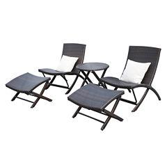 Azura 5-pc. Patio Lounge Set