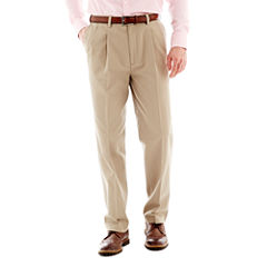 Savane® Performance Pleated Chinos